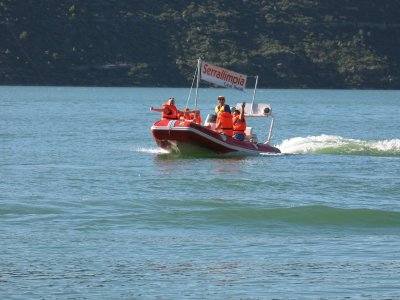 Rent a boat without license in Riabl for 2h