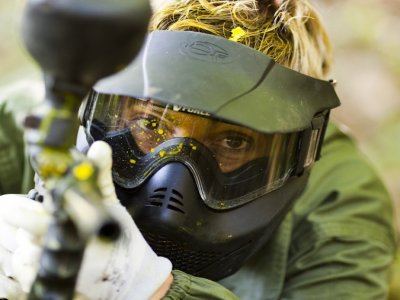Paintball in the Asturian Woods - 100 balls