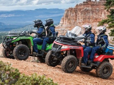 Two-seater Quad Trail in Cambrils, half a day