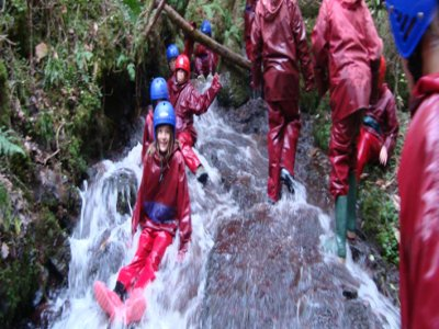 Pendine Outdoors Canyoning