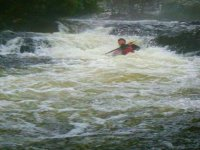 White water kayaking course