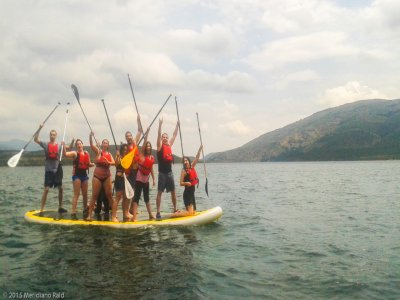 King Paddle Surf 1 hour in Pinilla reservoir