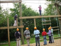 Our high ropes course