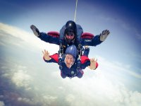 Skydiving with an instructor
