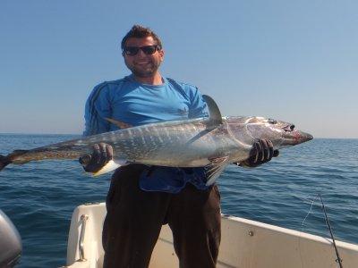 Deep-sea fishing for 8h in Ibiza on low season