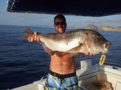 Coastal fishing for 8h on high season