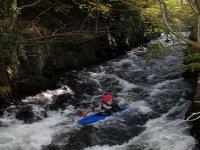 Paddling the river Ogwen