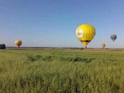 4h private hot-air balloon ride in Majorca