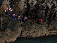 Follow the seacliff