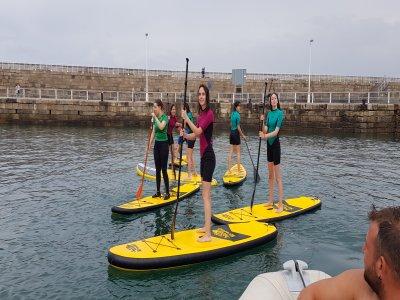 SUP board rental & wetsuit Gijón 1 hour