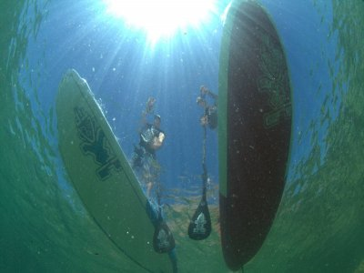 2h SUP on calm waters lesson in Somo, Cantabria