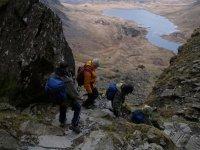 Descending to Loch Avon