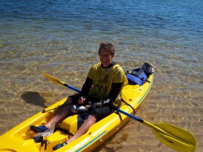 1-seat kayak rental in Guadamar del Segura 1h