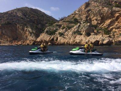 Jet Ski tour 40 minutes in Denia + Photos