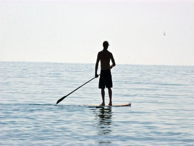 Paddle surf tuition at Costa Cabana, 3 hours