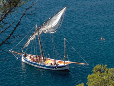4h schooner rental from Palamós with skipper
