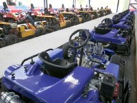 Our fleet of karts