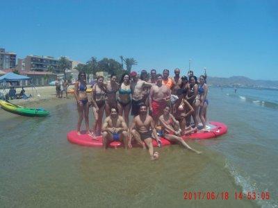 Big paddle surf in Manzón port