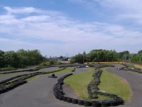 We have a large 450 metre outdoor track