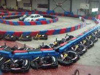 We have a large fleet of karts available to drive