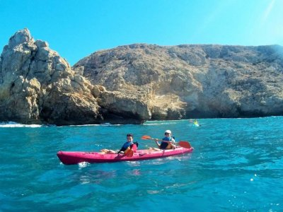 Guided kayaking route, Cabo de Gata