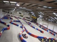 Our indoor circuit provides many twists and turns
