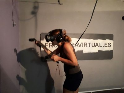Virtual reality birthday at Barcelona, 30 minutes