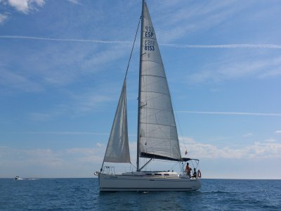 Stag party in a sailing boat, Alicante