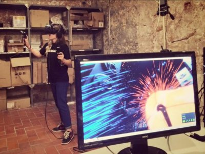 Virtual reality in Barcelona for 40 minutes