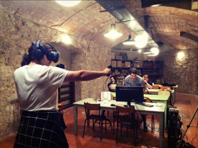 Virtual reality Barcelona, 4 rounds of 40 minutes