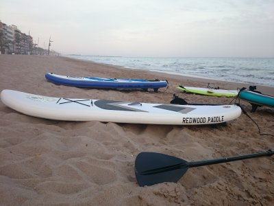 Rent a SUP equipment in Tarragona for 1 hour