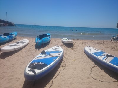 Rent a surfboard in Tarragona for 1 hour