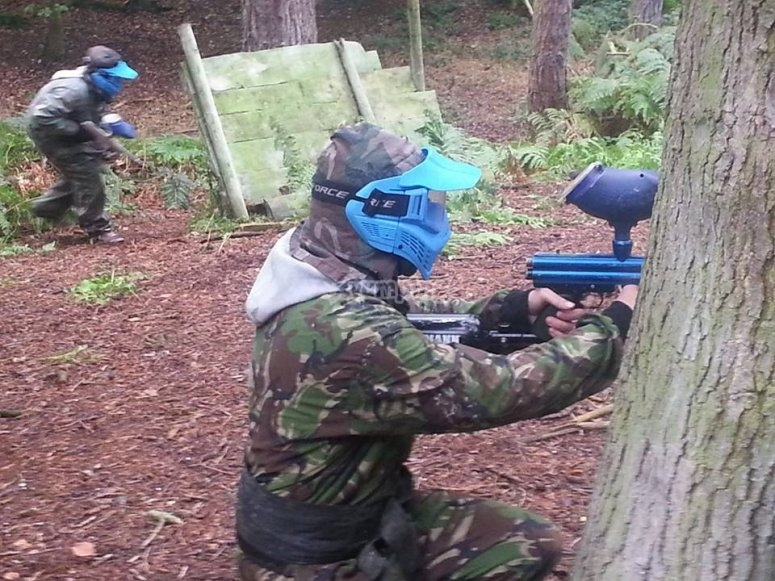 Blue team attacking