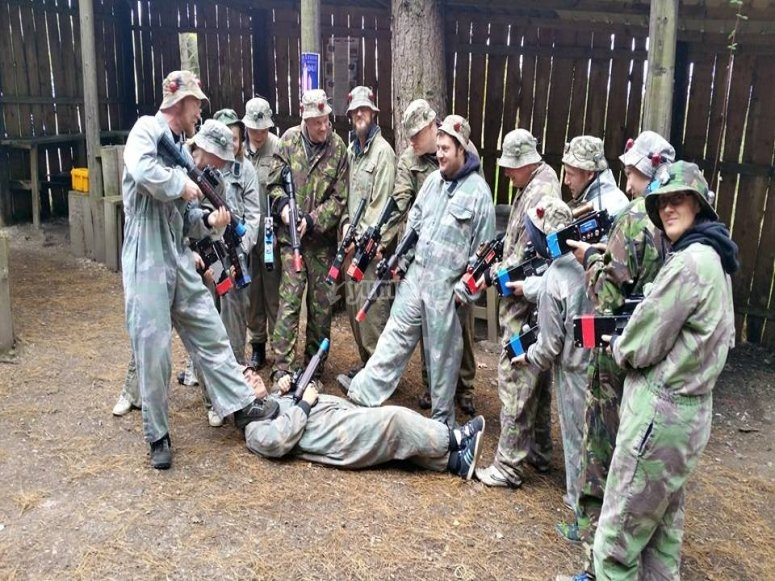 Laser tag group