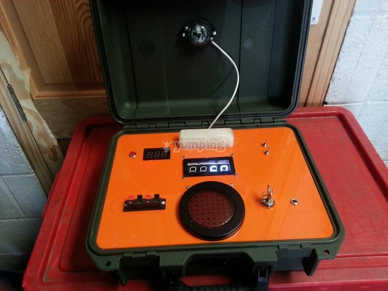The device for laser tag