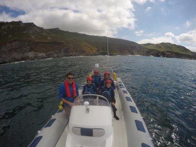 Coasteering & Rib Ride at Gara Rock, 3.5 hours