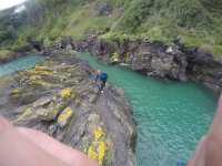 coasteering in Salcombe