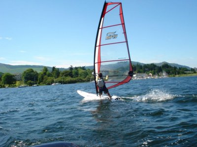 Derwent Water Marina Windsurfing