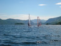 A Beautiful Day on Derwent Water