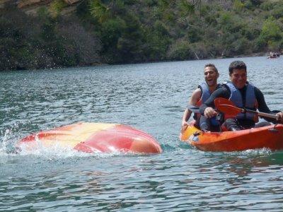 Kayak rental in Cuenca, half day