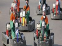Go karting with friends