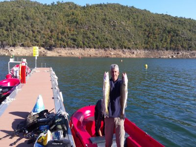 Rent a 15HP fishing boat in Ponts for 8h