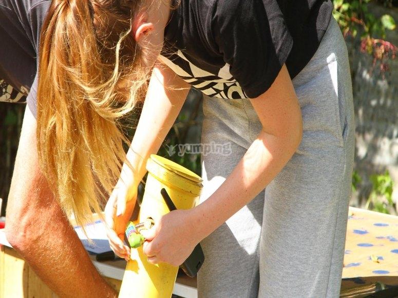 Escape the Hills puzzle challenges for families - adventure south - Salcombe Devon