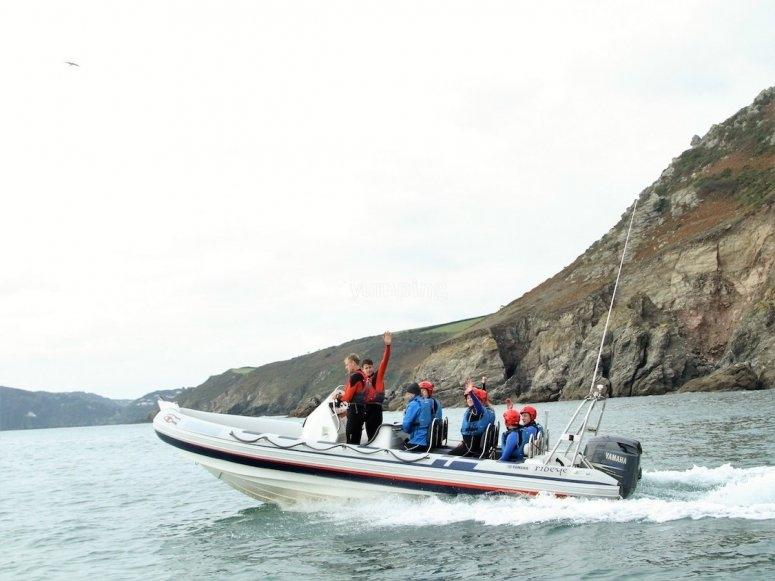 Power-Boat-Ride-Salcombe