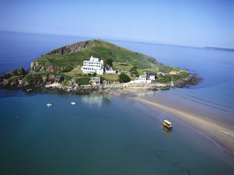 the lovely burgh island