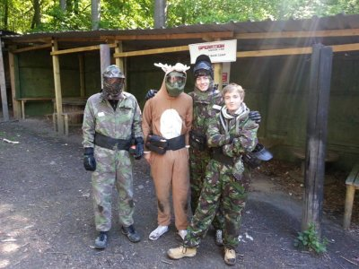 3 Hours 500 Paintballs Brighouse