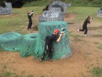 Paintball obstacle course