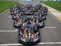 Our fleet of karts