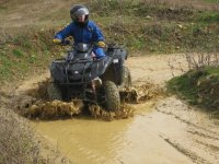 Prepare for a muddy experience!