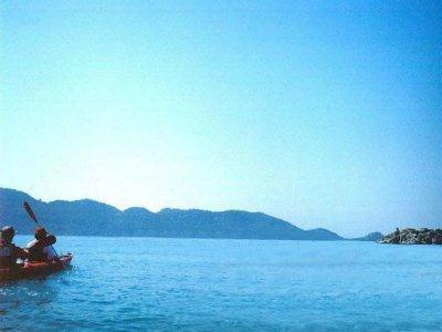 Single kayak rental in Mojácar, 30 minutes